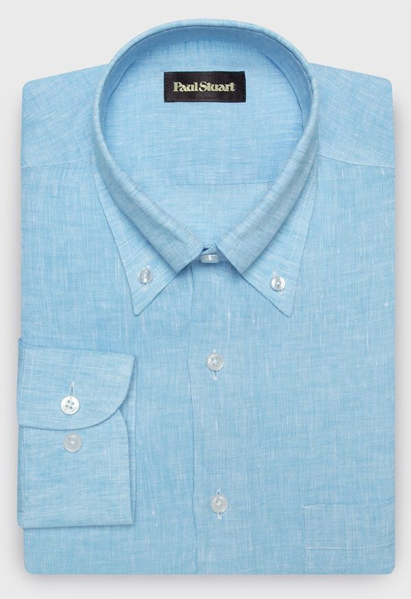 Linen End On End Sport Shirt, image 1