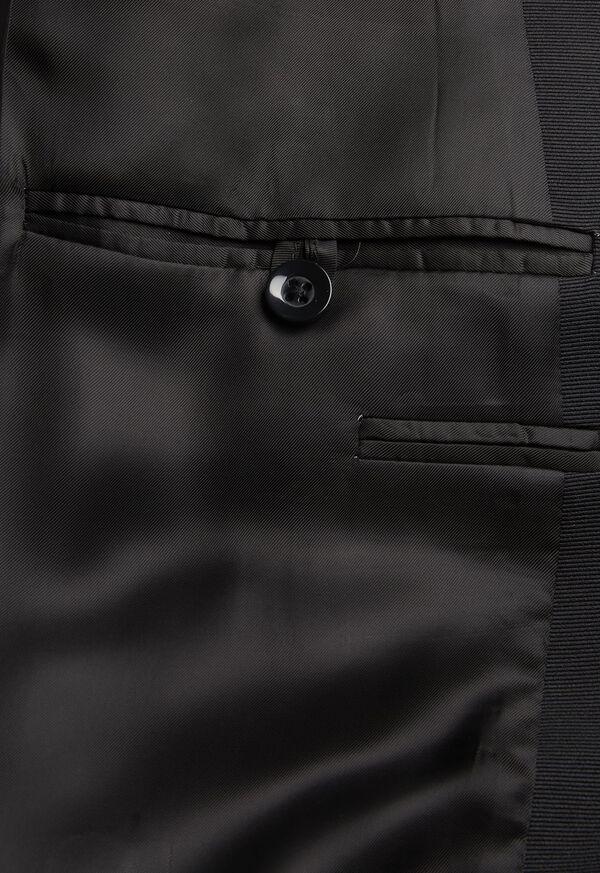 Paul Fit Peak Lapel Super 120s Wool Tuxedo, image 4