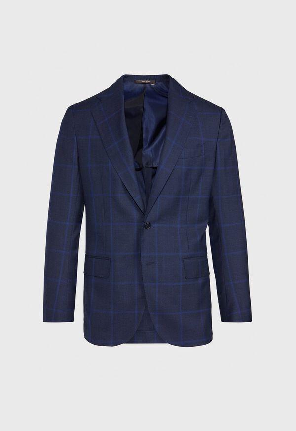 Blue Plaid Suit, image 3