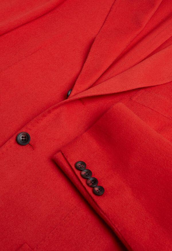 Red Cashmere Soft Jacket, image 4