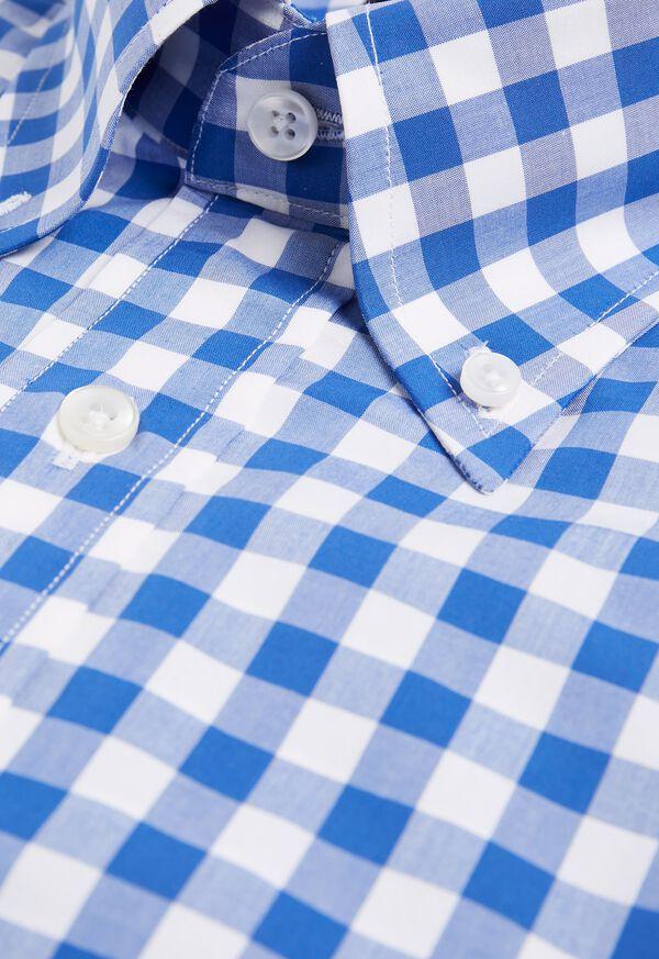 Gingham Cotton Dress Shirt, image 2