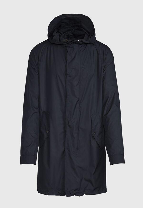Solid Parka Jacket, image 1