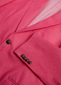 Pink Cotton Blend Denim Jacket, thumbnail 4