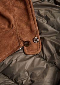 Suede Blouson Jacket, thumbnail 4