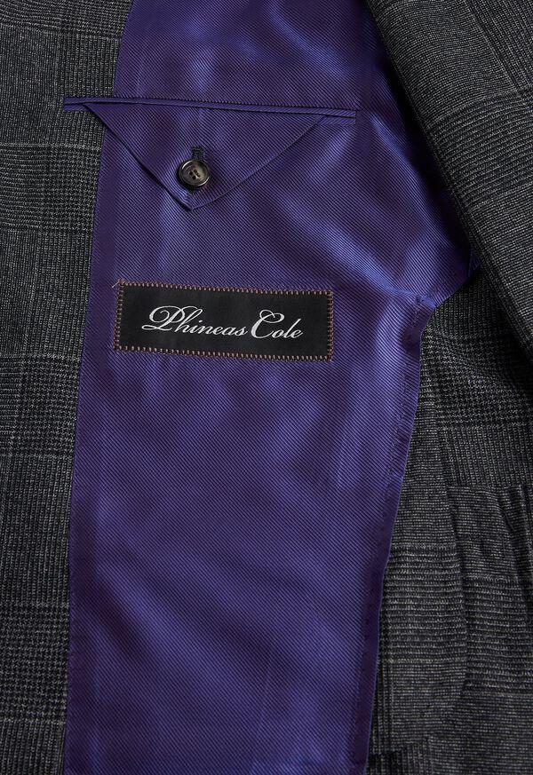 Grey Plaid Suit, image 4