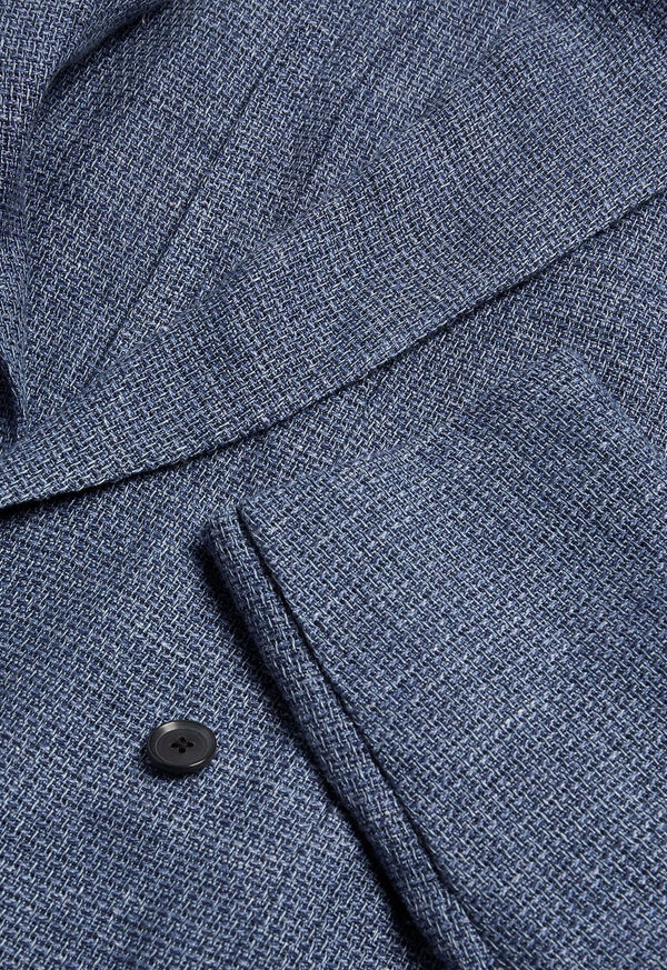 Textured Double Breasted Jacket, image 2