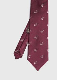 Red Candy Cane Holiday Tie, thumbnail 1