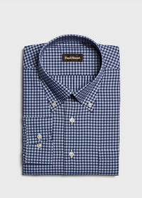 Cotton Check Sport Shirt, thumbnail 1