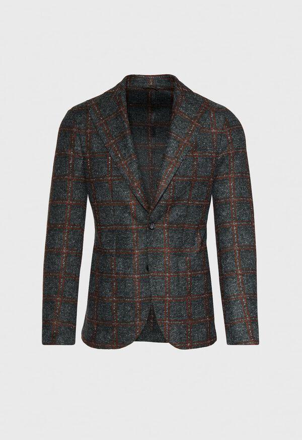 Single Breasted Plaid Soft Jacket, image 1