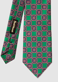 Silk Large Medallion Tie, thumbnail 2