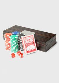 Matte Ebony 100 Chip Poker Set, thumbnail 2