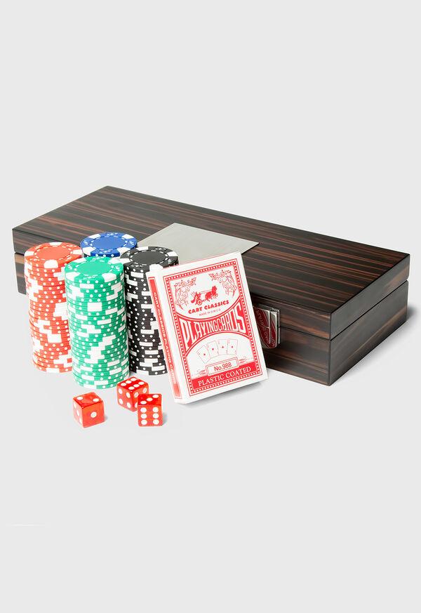 Matte Ebony 100 Chip Poker Set, image 2