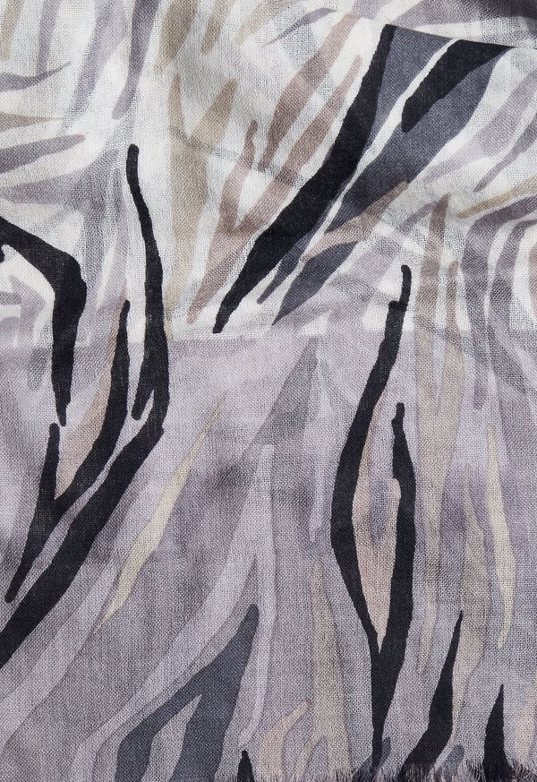 Abstract Print Scarf, image 2