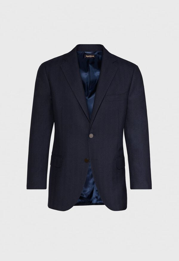 Tonal Navy Wool Sport Jacket
