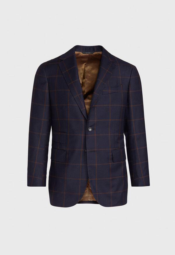 Navy Windowpane Suit, image 3