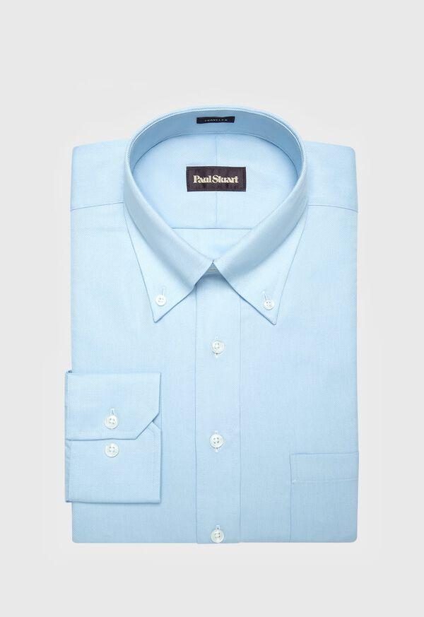 Blue Oxford Traveler Shirt, image 1