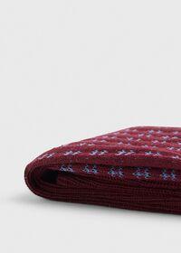Cotton Blend Box Motif Sock, thumbnail 2