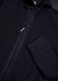 Merino Wool Shawl Collar Cardigan, thumbnail 3