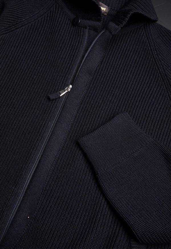 Merino Wool Shawl Collar Cardigan, image 3