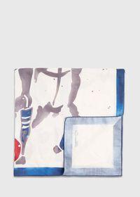Polo Printed Scarf, thumbnail 1