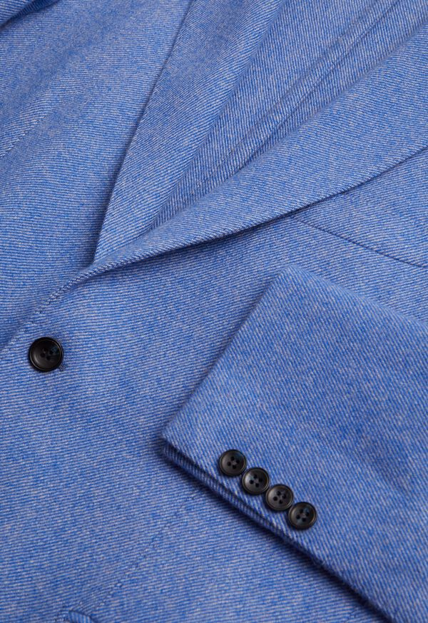 Solid Wool Soft Constructed Jacket, image 2
