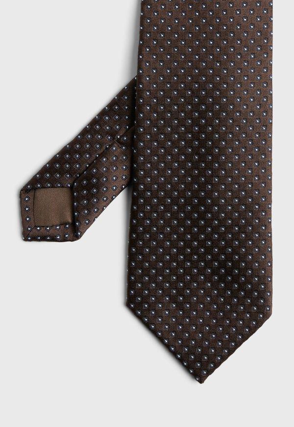Small Medallion Tie, image 1