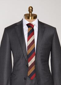 Multi Color Bar Stripe Tie, thumbnail 2