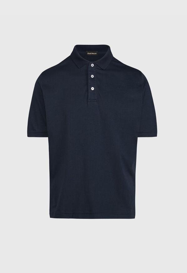 Pima Cotton Interlock Polo, image 6