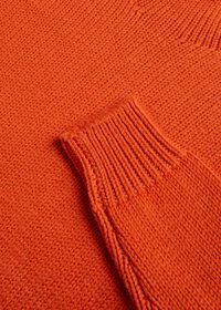 Solid Color Mock Neck Sweater, thumbnail 2