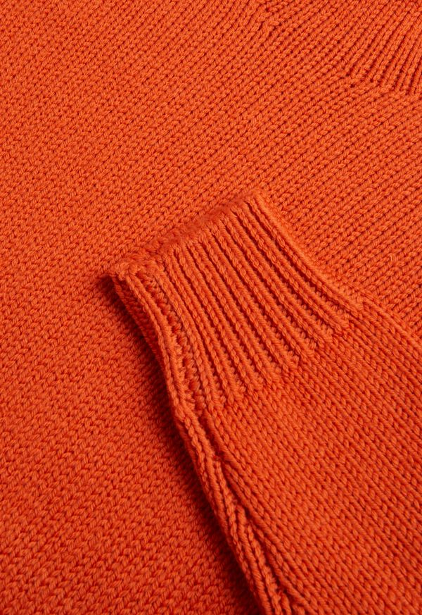 Solid Color Mock Neck Sweater, image 2