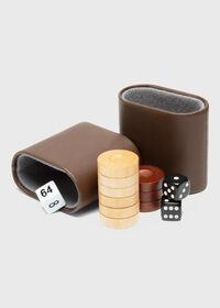 Matte Ebony Backgammon Set, thumbnail 2