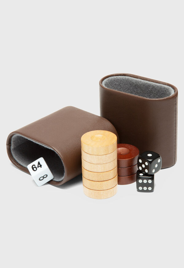Matte Ebony Backgammon Set, image 2