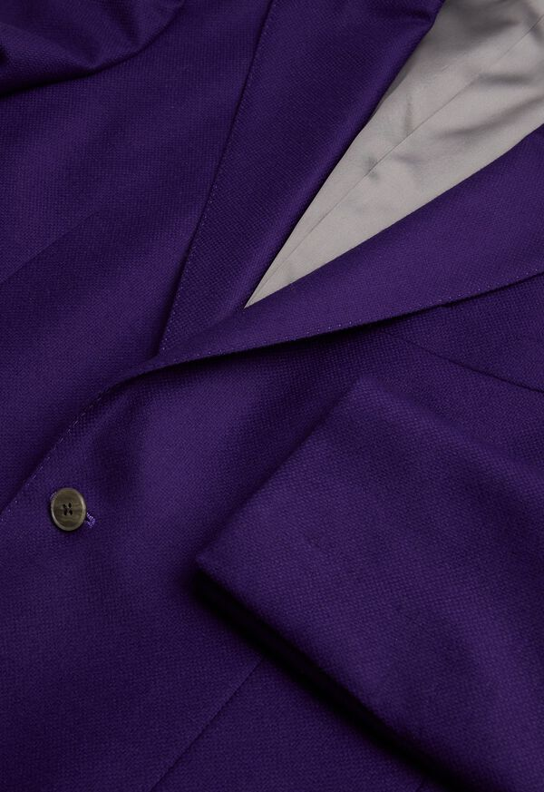 Solid Wool and Cashmere Blend Jacket, image 2