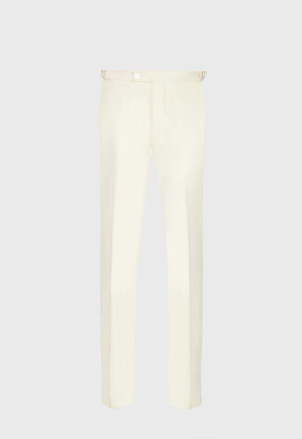 Flannel Harley Plain Front Trouser, image 1