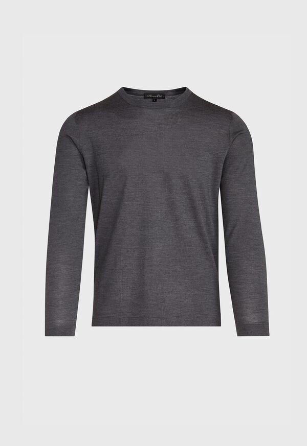 Wool Blend Crewneck Shirt, image 1