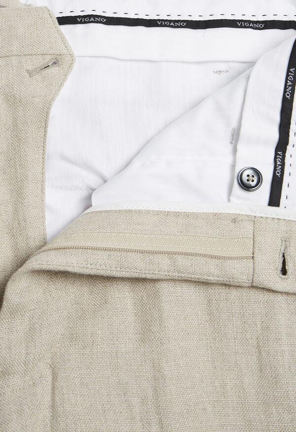 Tan Linen Pant, image 2