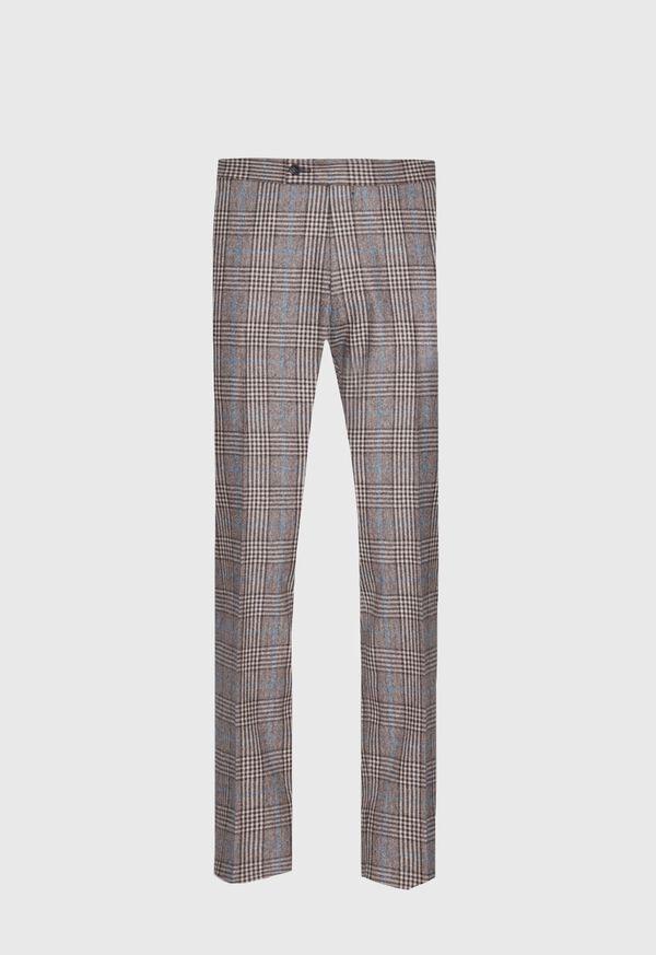 Phillip Fit Mink Plaid Wool Suit, image 6
