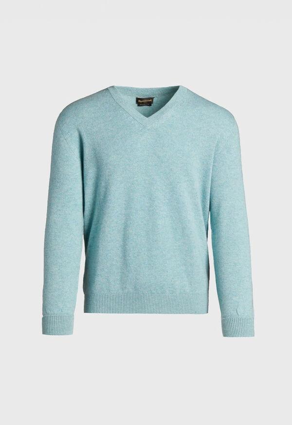 Scottish Cashmere V-Neck Sweater, image 8