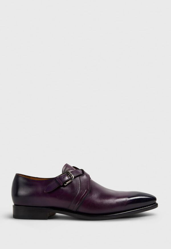 Galante Double Cross Monk Strap, image 1