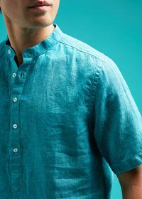 Linen Short Sleeve Popover, thumbnail 4
