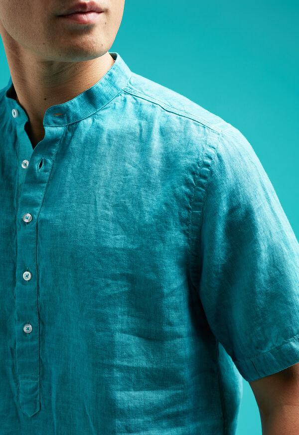 Linen Short Sleeve Popover, image 4