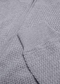 Pique Full Zip Sweater, thumbnail 2