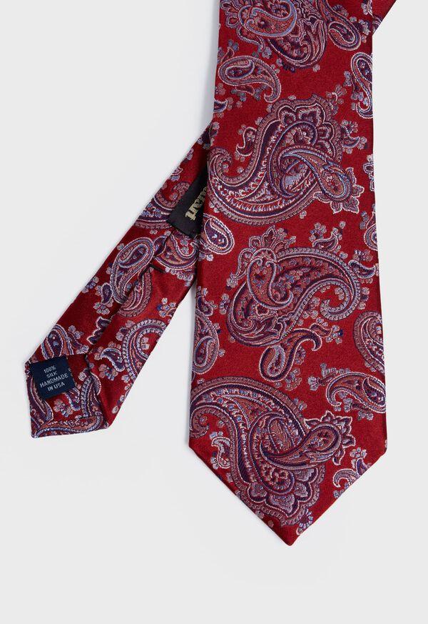 Satin Paisley Tie, image 1