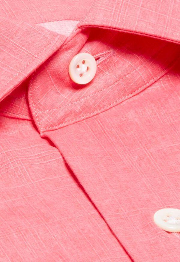 Cotton Crosshatch Sport Shirt, image 2