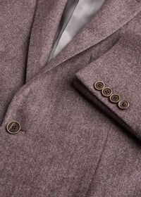 Soft Color Herringbone Sport Jacket, thumbnail 2