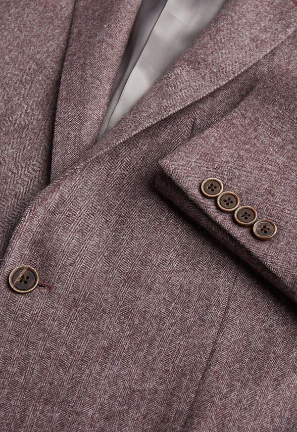 Soft Color Herringbone Sport Jacket, image 2
