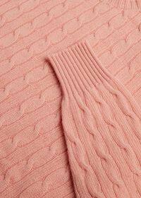 Cable Knit Pullover Sweater, thumbnail 2