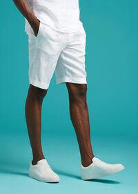 Linen Drawstring Shorts, thumbnail 2