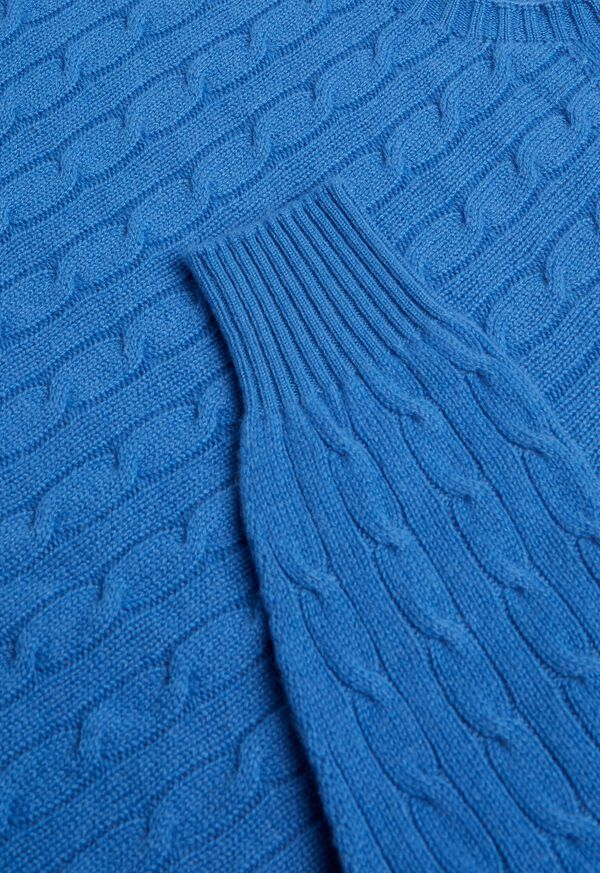 Cable Knit Pullover Sweater, image 2