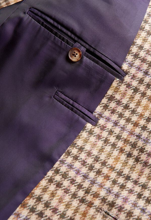 Paul Fit Wool Check Sport Jacket, image 4